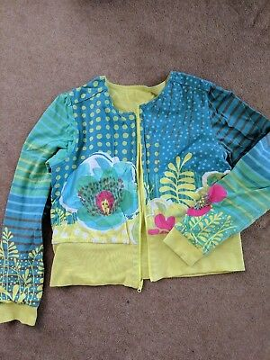 CATIMINI french designer girls jacket cardigan SIZE 12 GREAT CONDITION long slv