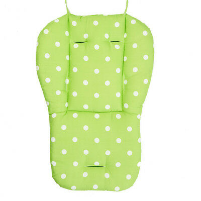 Green Stroller Seat Cushion Baby Pad Pushchair Infant Pram Car Cover Support