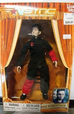 NSync Collectible Marionette Chris Kirkpatrick