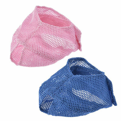 Adjustable Mesh Pet Dog Cat Anti-Bark Grooming Muzzle Mouth Mask Cover No Bite