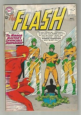 The FLASH no.136 SILVER AGE DC NATIONAL COMIC BOOK 1st Dexter Miles CIRCA 1963