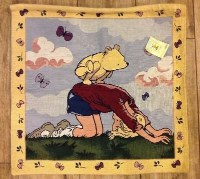 Classic Winnie the Pooh Piglet Woven Nursery Wall Hanging