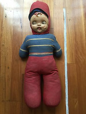 Early 1940s Doll - Needs Some TLC - Collectable Creepy Halloween