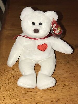 28a50bcb274 Extremely Rare VALENTINO 1993 Beanie Baby Babies MISPRINT Swing Tag Errors