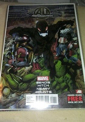Age of Ultron comic book set. 2013 series issues 1 to 10. All near mint.