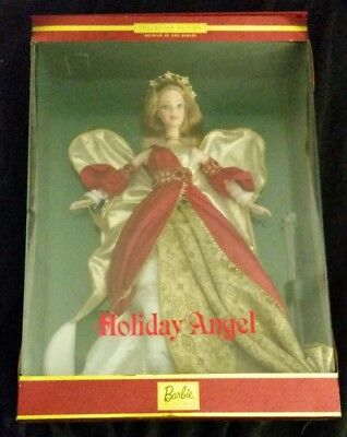 Barbie Doll Holiday Angel Collectors Edition 2000 Mattel