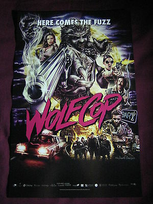 WolfCop / Cabin Fever Ground Zero Movie Poster Fan Expo 2014 Canadian Horror