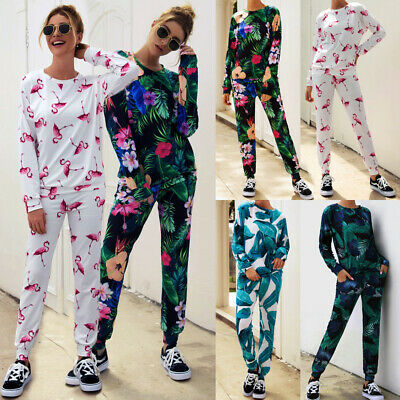 2017 Womens Tracksuit Hoodies Sweatshirt Top Pants Sets Sport Wear  Casual Suit