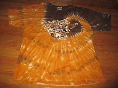 "Disney ""Rock 'n' Roller Coaster"" Starring AEROSMITH (XL) Tie-Dye T-Shirt"