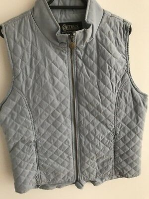 OUTBACK TRADING CO 'Mane Event' Quilted Vest ~ Size LG ~ NEW WITHOUT TAGS