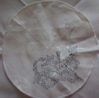 Myart Doilies x 2  - Fragrance design - To Embroider