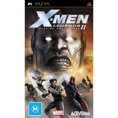X-MEN LEGENDS 2 RISE OF THE APOCALYPSE PSP Game + Booklet
