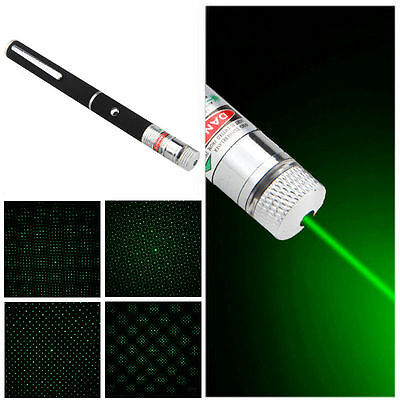 Powerful 1MW Green Beam Laser Pointer Pen 532nm Professional LED Lazer Slim QV2
