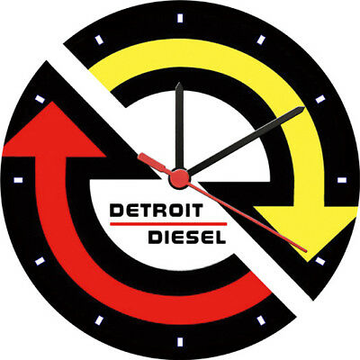Detroit Diesel Adornment Wall Clock