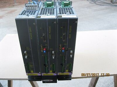 FAGOR PS-25, power supply with Two AXD 1.25-SI-0 Servo Drives
