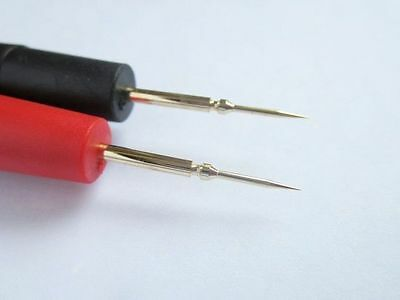 New 1 PAIR Universal Probe Test Leads Pin For Digital Multimeter Meter