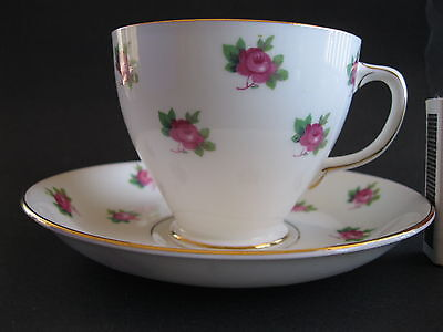 Sampson Smith Cup Saucer roses