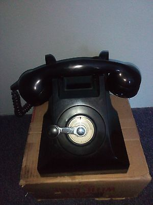 Vintage Bakerlite Phone Un-issued still in box