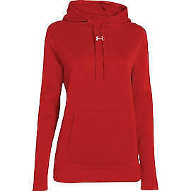 Under Armour 1258826-600 Storm Armour Fleece Hoodie - Women's - Red - Small