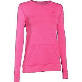 Under Armour 1264094-652 Women's Coldgear Infrared Cozy Crew - Pink - X-Small
