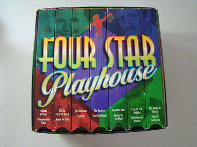 Four Star Playhouse VHS Set (7 tapes) A Study In Panic House For Sale The Gift +