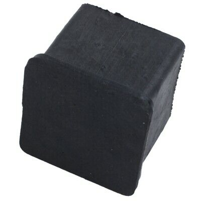20 mm x 20 mm, black, square, rubber foot pad for chair or table, 4 pieces J8E8