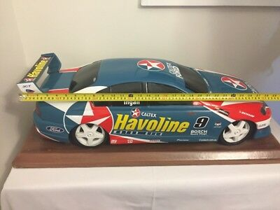 1:4 - 2004 Russell Ingall V8 Supercars #9 Model -RARE & BIG - Caltex Ford Falcon
