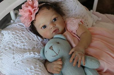 reborn baby doll  Julietta Limited reborning Voronina Tatyana