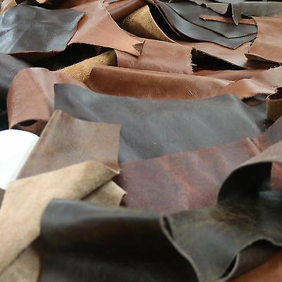 2kg Upholstery Quality Leather Off Cuts, Scrap, Pieces, Arts & Crafts, Remnants