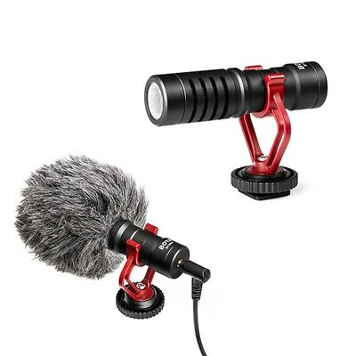 BOYA BY-MM1 Cardiod Shotgun Microphone for Camera/Camcorders/Smartphone/Recorder