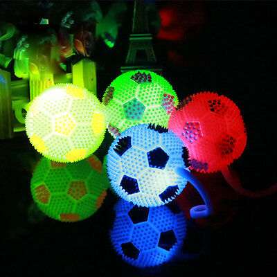 Light-Up Jumping Volleyball LED Self Bouncing Hippity Jumper Power Flashing Toy