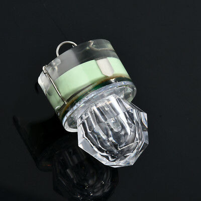 1PC LED Deep Drop Underwater Diamond Flash Fishing Light Squid Strobe Bait Lure