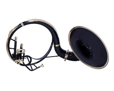 CHIRMAS GIFT SOUSAPHONE Bb PITCH 21 BELL WITH FREE CARRY BAG AND MP, BLACK COLOR