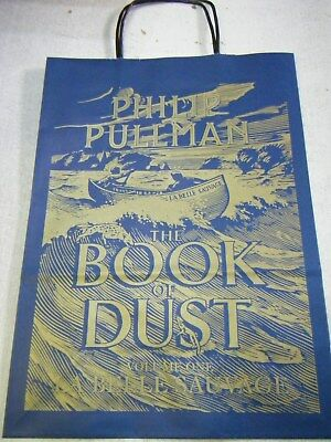 Collectable Book of Dust La Belle Sauvage Philip Pullman POS Paper bag Limited