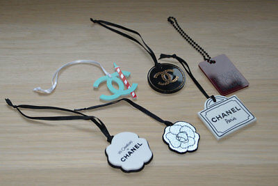 VIP gift from Chanel beauty counter set of 6 rare plastic charms NEW
