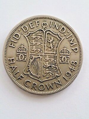 Half Crown George V1 1948