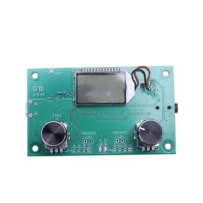DSP & PLL Digital Stereo FM Radio Receiver Module 87-108MHz with Serial Con D6H9