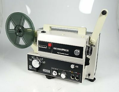 Eumig 820 High Quality Sound Super 8 Tonfilmprojektor Topzustand