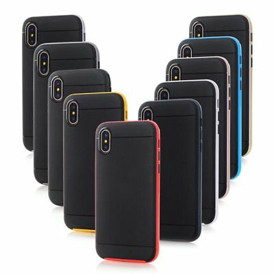10pcs/lot Neo Bumblebee Hybrid TPU+PC Rugged Armor Shockproof Case for iPhone X