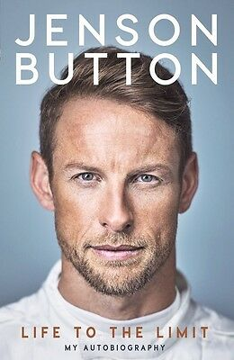 Jenson Button: Life to the Limit: My Autobiography Hardcover Formula 1 ***NEW***