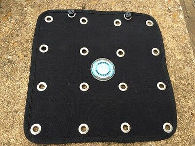 Scuba Diving Back Plate Storage Tail