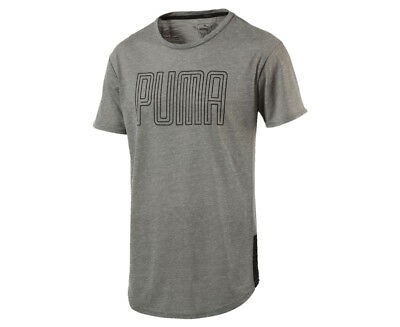 Puma Men's Dri-Release Tee - Grey Heather
