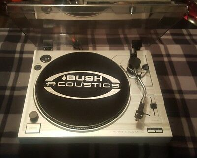 Bush Acoustics Turntable/record Player/33-45 Speed/aux