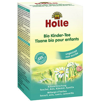 2 Boxes HOLLE Organic Calming Tea for Kids UNSWEETENED Exp.05-2021 New