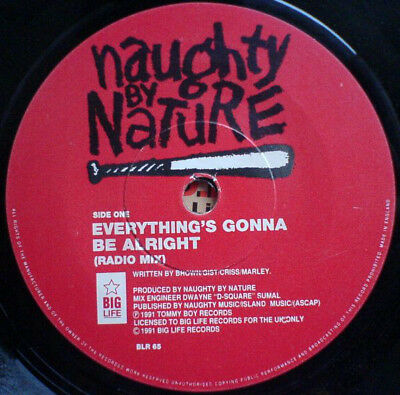 Naughty By Nature - Everything's Gonna Be Alright (Vinyl)