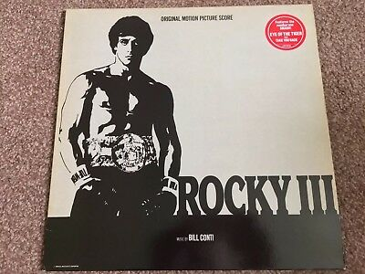 "Rocky III Original Motion Picture Score - 12"" Vinyl LP Excellent+ Condition"