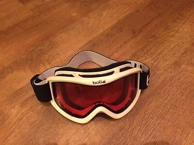 Bolle Ski Goggles White and pink Good condition