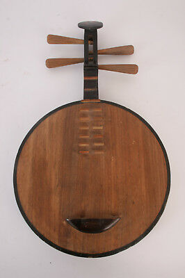 Guitare lune chinoise - Luth chinois - Chinese moon guitar - Yueqin lute