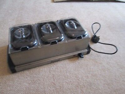 Sherwood professional hotplate and buffet server - food warmer