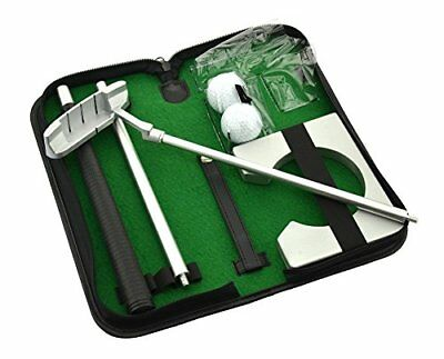 Posma PG020 Portable Putter Gift Set Kit with Putter, 2pcs Balls, Putting Cup